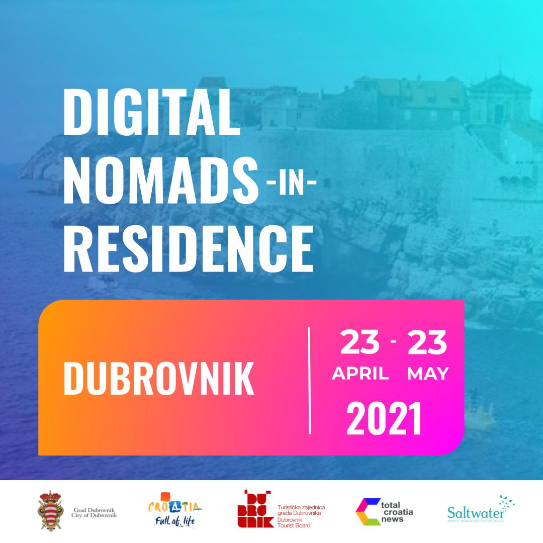 Dubrovnik Digital Nomads-in-Residence Promo tile